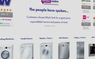 New Wash Tech Online Website