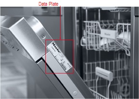 Dishwasher Model Number