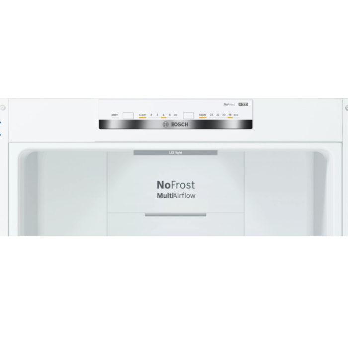 Bosch KGN39VWEAG Free-standing fridge-freezer