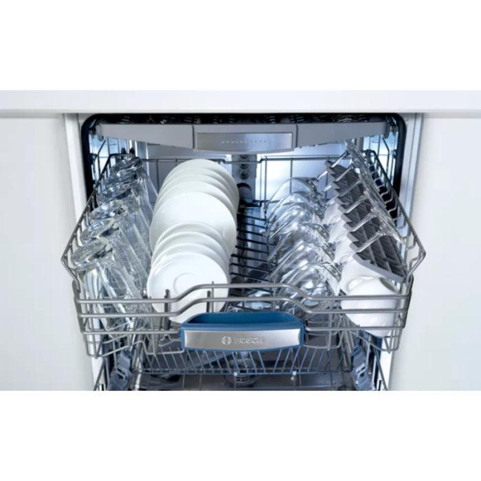 Bosch SMS46MW00G dishwasher interior