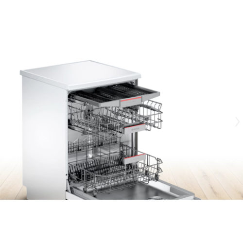 Bosch SMS46MW03G Freestanding Dishwasher