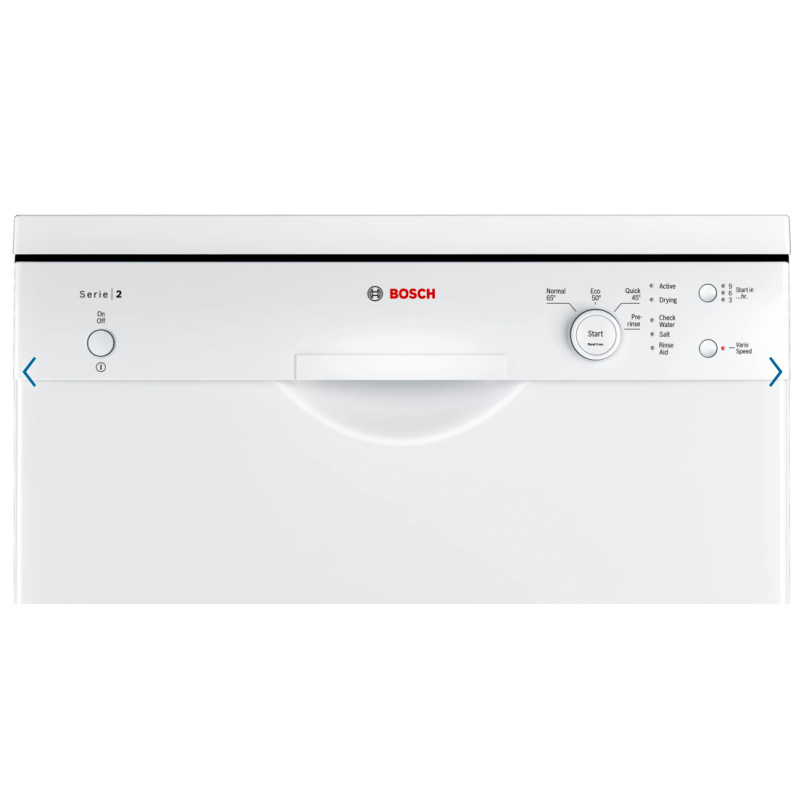 Bosch SMS24AW01G Freestanding Dishwasher controls
