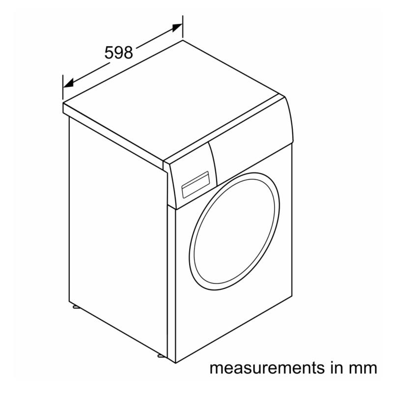 Bosch WAU28S80GB Washing Machine